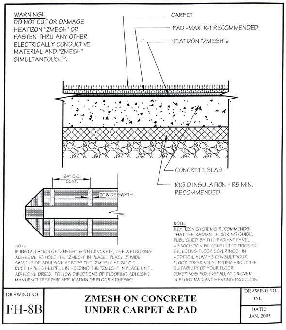 radiant floor heating problems with radiant floor heating Radiant Loop Diagram images of problems with radiant floor heating